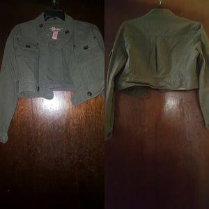 Green Jacket Size L